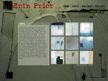 ERIN PRIOR Website