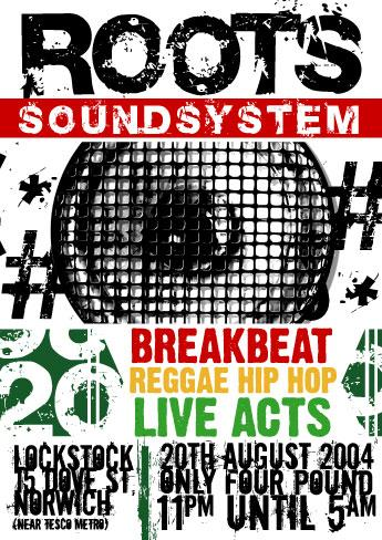 ROOTS SOUNDSYSTEM poster