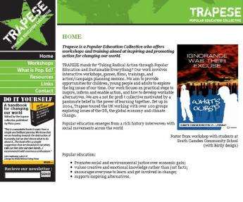 TRAPESE website