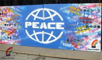 Peace Industries canvas