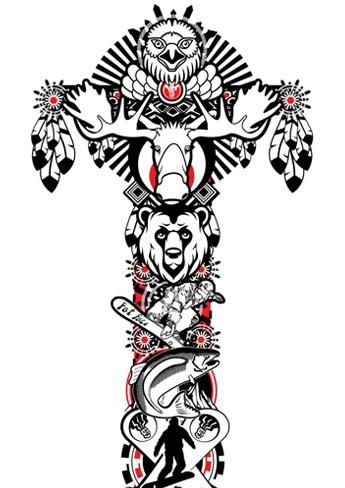 Fashion on totem animals and meanings