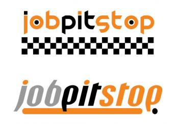 Job Pit Stop logo design